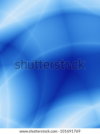 Blue card abstract background - stock photo