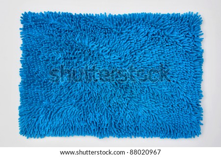 Blue Carpet - stock photo