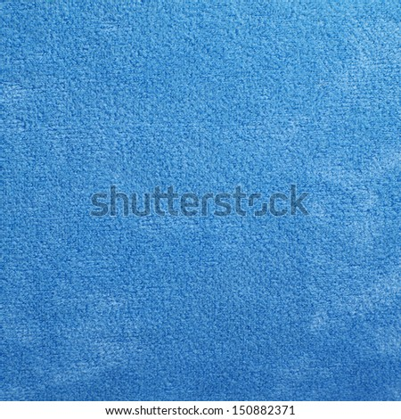 blue carpet texture for background - stock photo