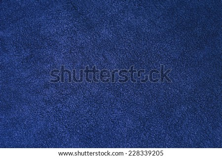 blue carpet wool texture  - stock photo