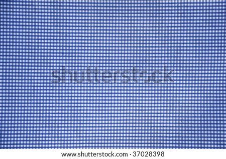 Blue checker background - stock photo