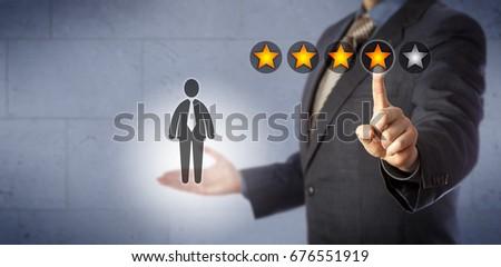employee evaluation stock images royalty free images vectors shutterstock. Black Bedroom Furniture Sets. Home Design Ideas