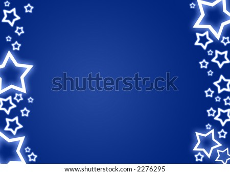 Blue christmas background / card
