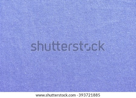 Blue Cloth Texture and Background - stock photo