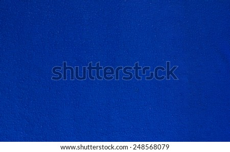 Blue color from clothing background - stock photo