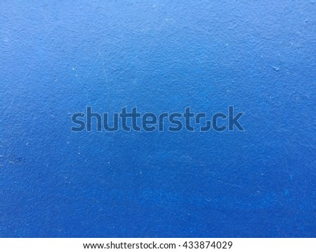 Blue concrete wall texture background - stock photo