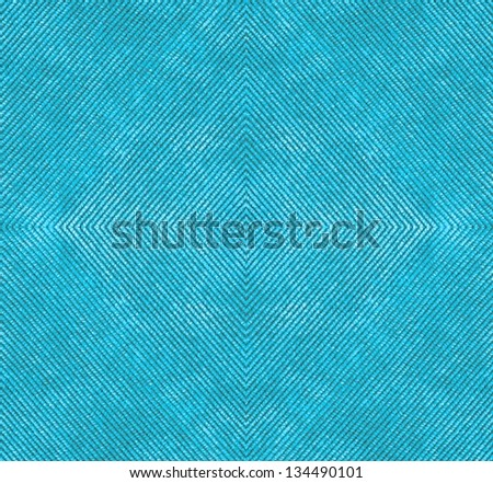 Blue corduroy background - stock photo