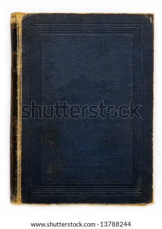 Blue cover - stock photo