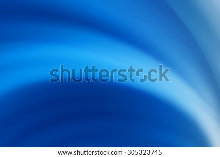 blue curve abstract background - stock photo
