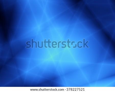 Blue deep abstract dark pattern graphic design - stock photo