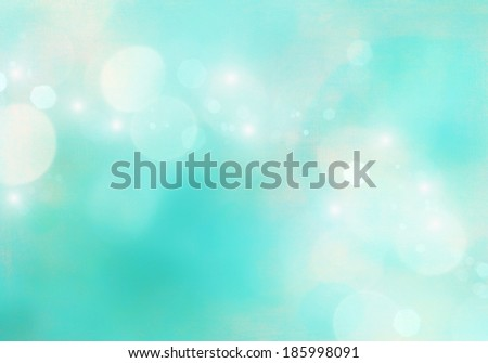 Blue defocused background