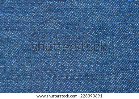 Blue denim background. - stock photo
