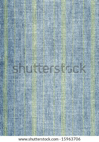 Blue denim fabric background. Close-up of jeans. - stock photo