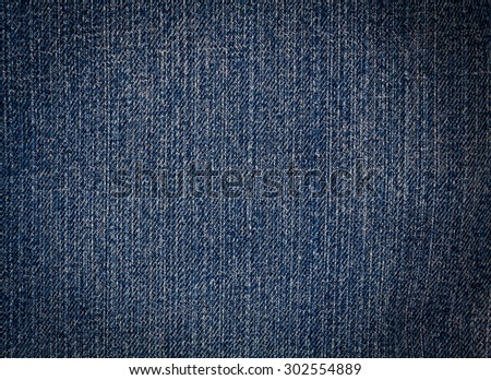 Blue Denim Texture,  Jeans Background, for background - stock photo
