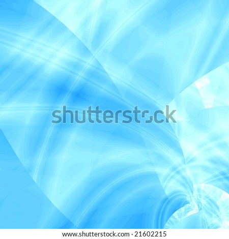 Blue design background - stock photo