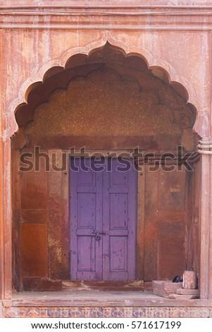 Blue door in Jama masjid mosque Old Delhi India & Door Masjid Imágenes pagas y sin cargo y vectores en stock ... pezcame.com