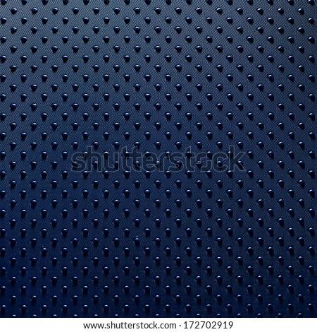 Blue dot background - stock photo