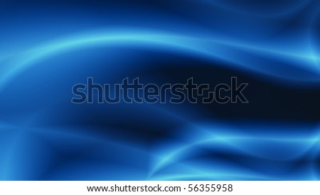 blue energy abstract background - stock photo