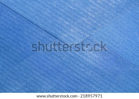Blue envelope reverse side as background. - stock photo