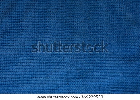 blue fabric texture, cloth background - stock photo