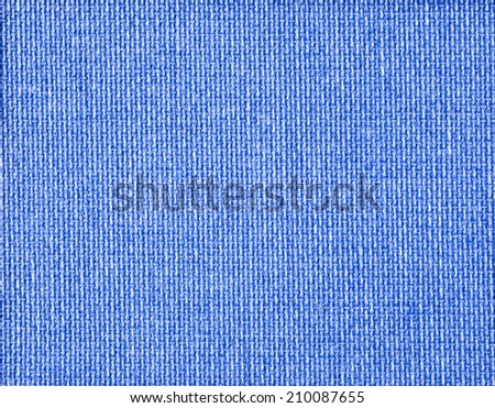 blue fabric texture for background  - stock photo