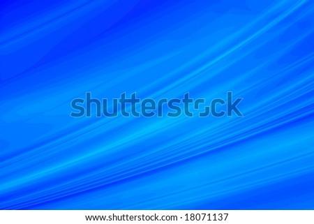 Blue fantasy background - stock photo