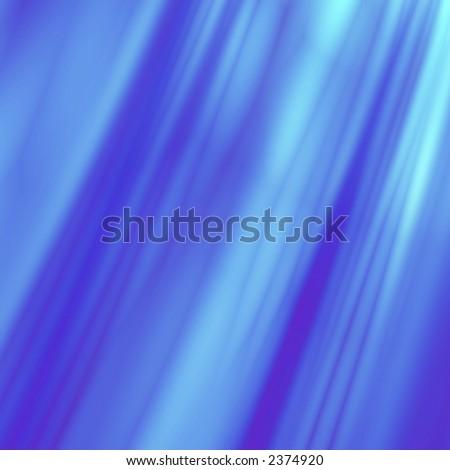 Blue fantasy rays - stock photo