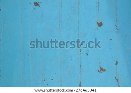 Blue floor - stock photo