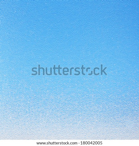 Blue frosted  glass texture - background - stock photo