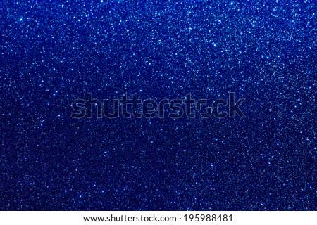 blue glitter shiny background - stock photo