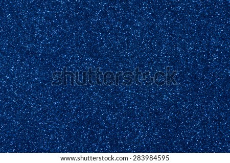 blue glitter texture christmas abstract background - stock photo