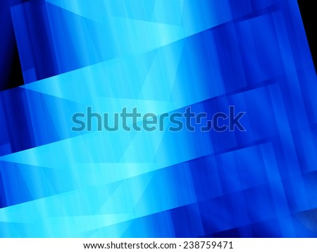 Blue glowing lines technology, computer generated abstract background