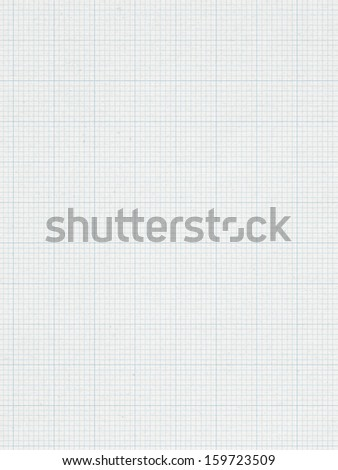 Blue Graph line, paper background   - stock photo