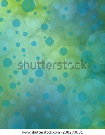 blue green background bubbles or bokeh texture design