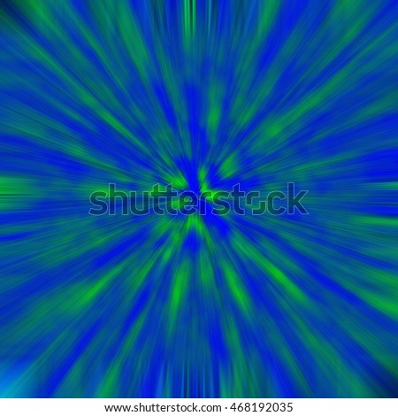 Blue-Green background light effect