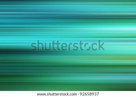 Blue-green stripy background - stock photo