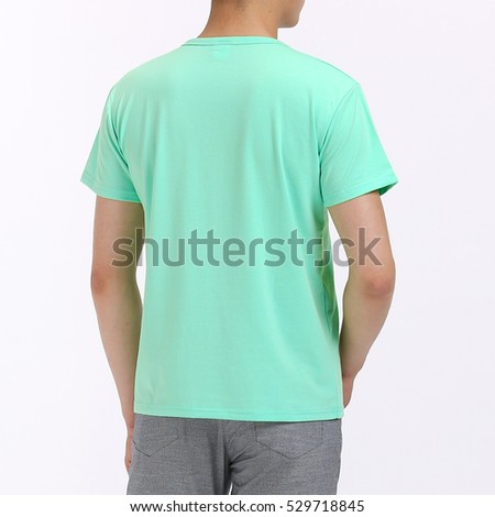 Blue Green T-shirt