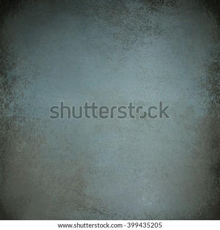 blue grey wall - stock photo