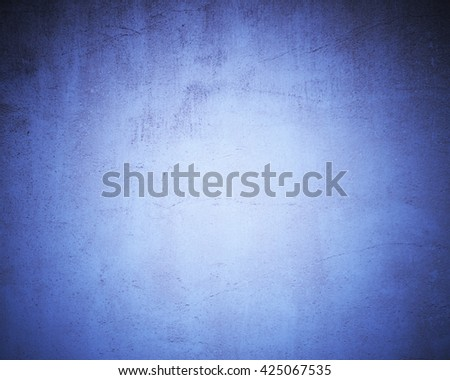 blue gritty background - stock photo