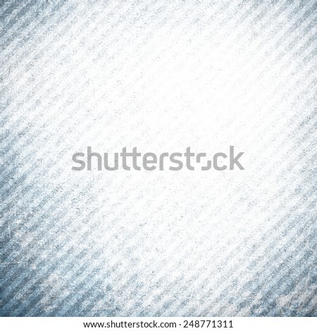 Blue grunge background wall with stripes - stock photo