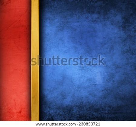 blue grunge paper background - stock photo