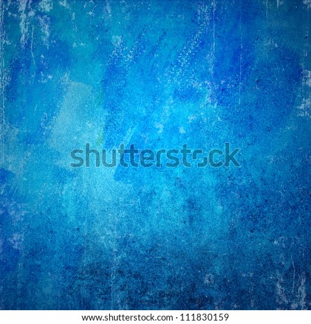 Blue grunge texture - stock photo