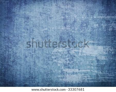 blue grunge texture - stock photo