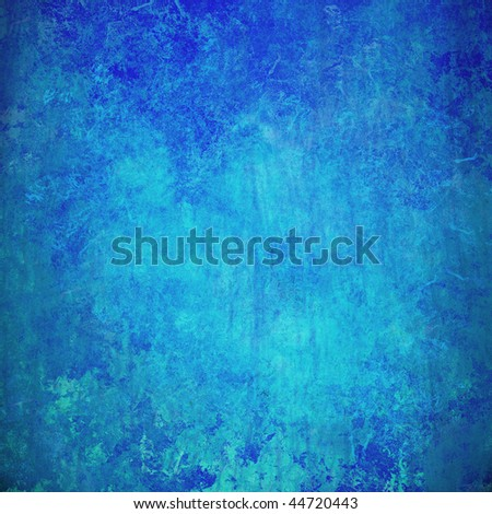 blue grunge textured abstract background for multiple uses - stock photo