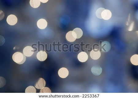 blue holiday background - stock photo