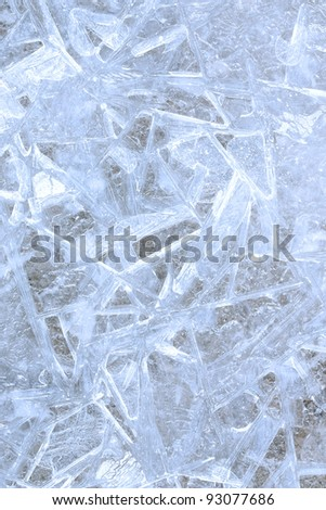 Blue ice background See my portfolio for more - stock photo