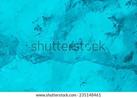 Blue Ice Holiday Christmas Background, Sparkling Rustic Texture With Cold Frozen Crystal Light Pattern - stock photo