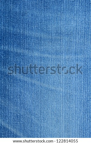 blue jean background - stock photo