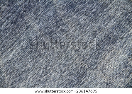 Blue jean fabric background texture - stock photo