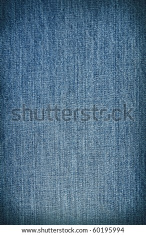 blue jean texture pattern - stock photo